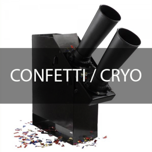 CRYO & Confetti Jets/ Machines